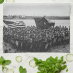 First to Fight - US Marines - 1918 Kitchen Towels