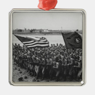 First to Fight - US Marines - 1918 Metal Ornament