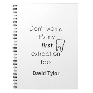 First Tooth Extraction! Spiral Note Books