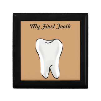 First Tooth Keepsake Box