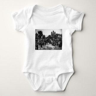 First Transcontinental Railroad Promontory Summit Baby Bodysuit