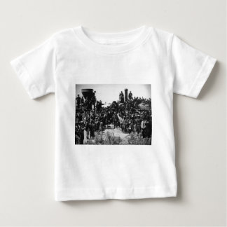 First Transcontinental Railroad Promontory Summit Baby T-Shirt