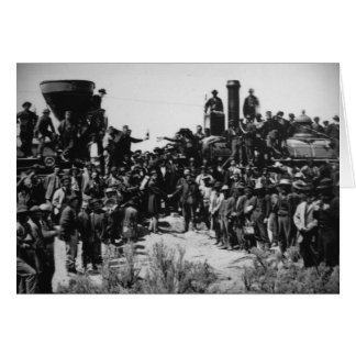 First Transcontinental Railroad Promontory Summit Card