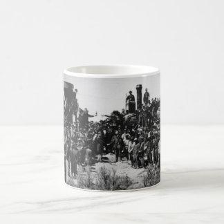 First Transcontinental Railroad Promontory Summit Coffee Mug