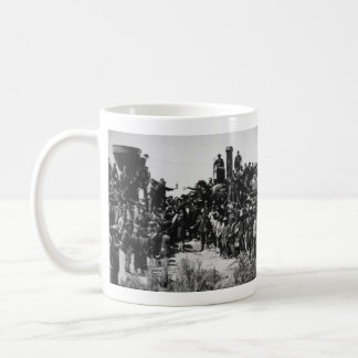 First Transcontinental Railroad Promontory Summit Coffee Mug