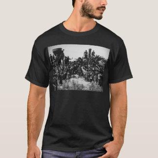 First Transcontinental Railroad Promontory Summit T-Shirt