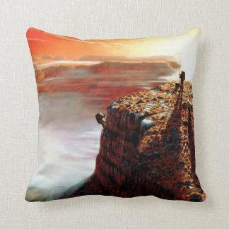 First Trip To Mars - Artist Concept Throw Pillow