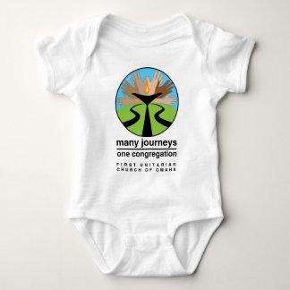 First Unitarian Church of Omaha Baby Bodysuit