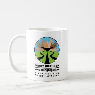 First Unitarian Church of Omaha Classic White Coffee Mug