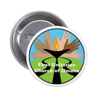 First Unitarian Church of Omaha Pinback Button