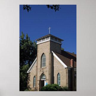 First United Methodist Church, Carson City, Nevada Poster