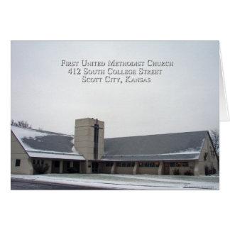 First United Methodist Church Greeting card 001