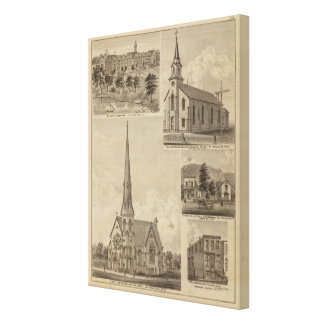 First Universalisty Church, Minneapolis, Minnesota Canvas Print