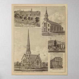 First Universalisty Church, Minneapolis, Minnesota Posters