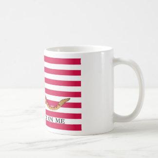 First US Naval Jack Classic White Coffee Mug