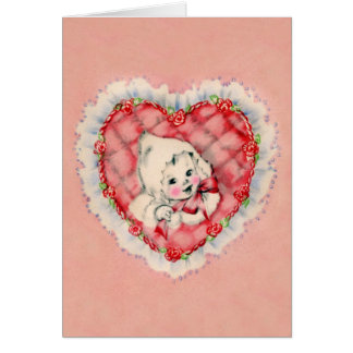 First Valentine for Baby card