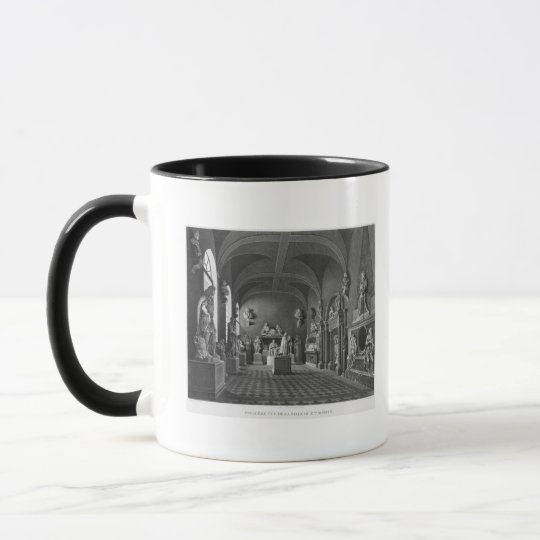 First view of the 17th century room mug