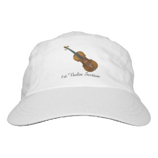 First Violin Section Customizable Text Headsweats Hat