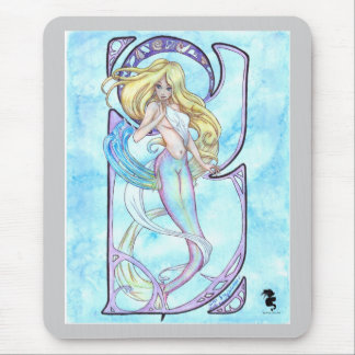 First Wave Mermaid Mouse Pad