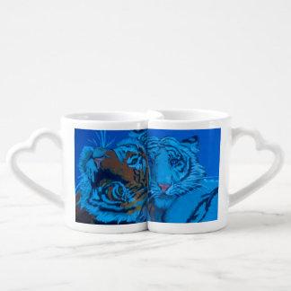 First White Tiger born in custody. Coffee Mug Set
