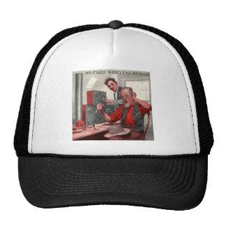 First Wireless Message Hats