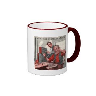 First Wireless Message Coffee Mug