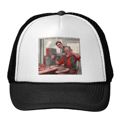 First Wireless Message Trucker Hat