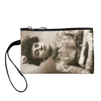 First woman tattoo artis coin purse