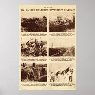 First World War, Hidden guns Poster
