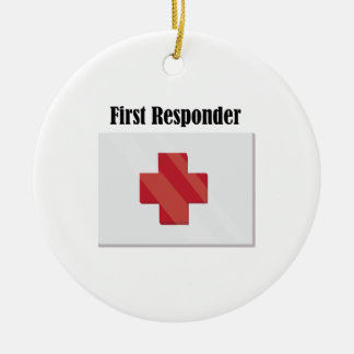 FirstAid_FirstResponder Ceramic Ornament