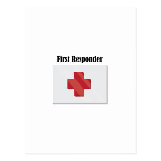 FirstAid_FirstResponder Post Card