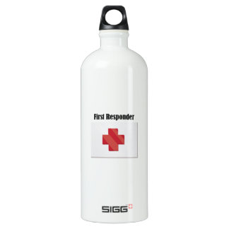 FirstAid_FirstResponder SIGG Traveler 1.0L Water Bottle