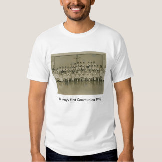 firstcomm, St. Mary's First Communion 1972 T-Shirt