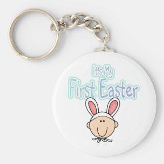 firsteasterrabitears keychain