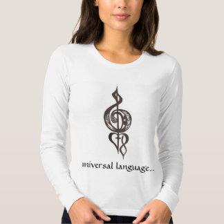 FirstLoveLogo, universal language... T-shirt