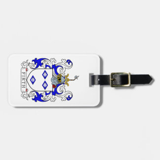Firth Coat of Arms II Travel Bag Tag