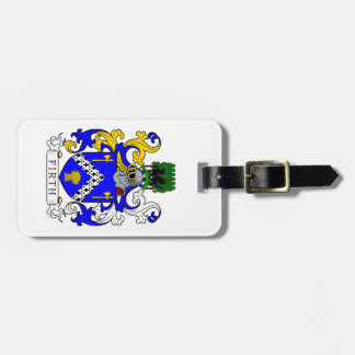 Firth Coat of Arms Tags For Luggage