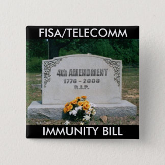 FISA/TELECOMM Square Button