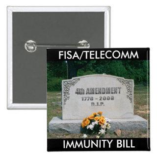 FISA/TELECOMM Square Button
