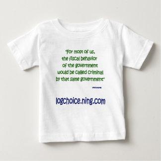 Fiscal behavior infant t-shirt