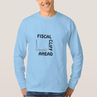 Fiscal cliff ahead=long sleeve tee