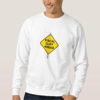Fiscal Cliff Ahead Sign Sweatshirt