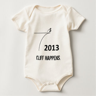 Fiscal Cliff Baby Shirt