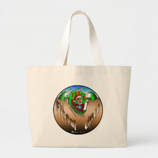 Fiscal Cliff Jumbo Tote Bag