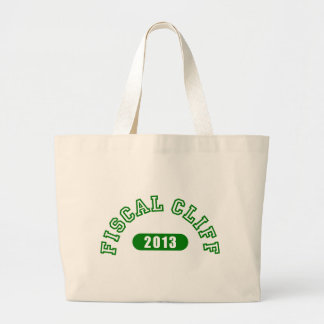 Fiscal Cliff Commemorative Goods Tote Bag