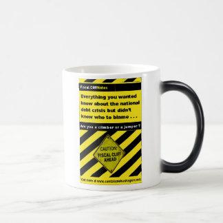 Fiscal Cliff Notes Mug