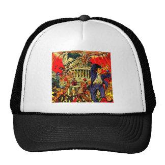 Fiscal Cliff Political Apocalypse Trucker Hat
