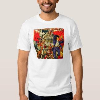 Fiscal Cliff Political Apocalypse Shirt
