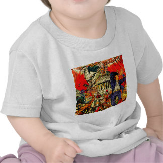 Fiscal Cliff Political Apocalypse T-shirt