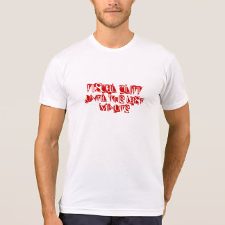 Fiscal Cliff Poly-Cotton T-shirt